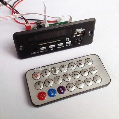 New Remote USB SD FM MP3 Player Module Remote control Black DC5V-12V MP3 parts