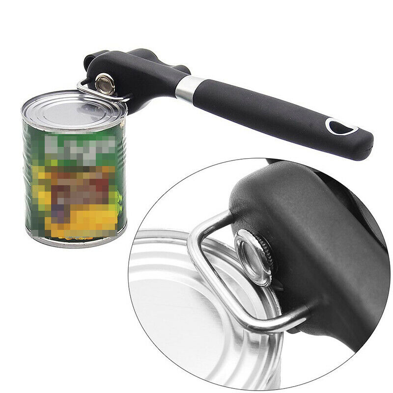 Heavy Duty Can Jar Tin Opener High-Quality Food Safe Stainle