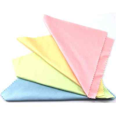 10PCS Lots Cleaning Cloth Microfiber Camera Lens Glasses Phone Screen Cleaner FT