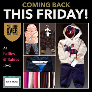 "BIG ""Like New"" BABY Clothing SALE this FRIDAY!"