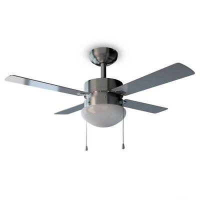 Cecotec Ventilador de Techo EnergySilence Aero 450. 106 cm Diámetro, Luz, 4...