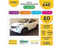 Nissan Juke 1.5dCi ( 110ps ) N-Tec FROM £49 PER WEEK!
