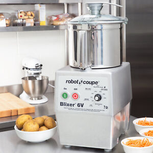 Robot Coupe Blixer 6V Variable Speed Food Processor with 7 Qt.