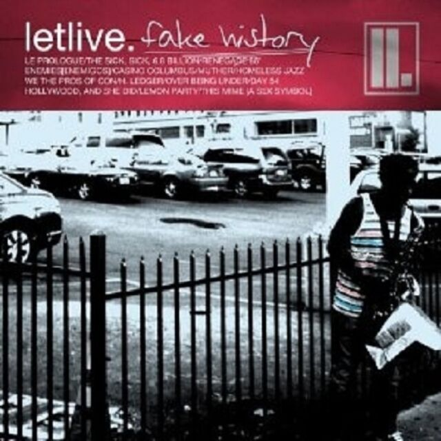 "LETLIVE ""FAKE HISTORY"" CD 14 TRACKS NEU"