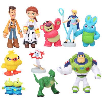 10 stück Toy Story 4 Film Neue Charakter Forky Bunny Ducky Figur Kinder Geschenk