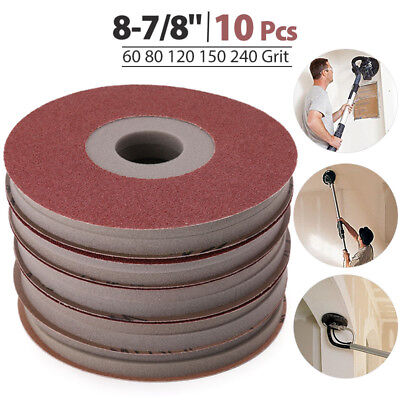 60-220 Grits Sanding Disc Sandpaper Pad For Wen 6369 Electric Drywall Sander
