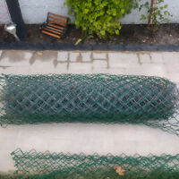 8ft of GREEN Chain Link Fencing (4ft Tall)
