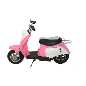 Girls Little Pink Scooter Electric Model