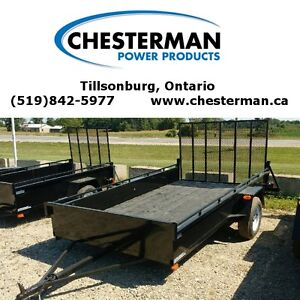 2016 Advantage 6x12 Steel Utility Trailer - Ramp (LS612) London Ontario image 1