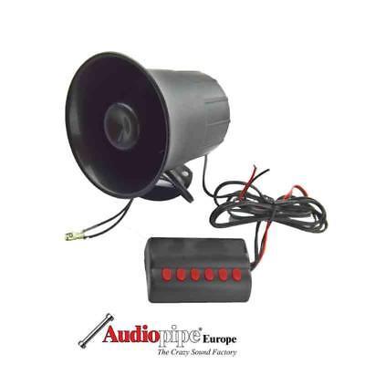 VIPER Excalibur Clifford Autoalarmanlage 6Ton Sirene 12 Volt 125db einstellbar - Ton-sirene