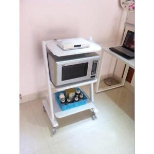 Mobile Cart Medical Steel Cart Trolley Doctor Dentist Trolly Spa Salon Equipment 220370