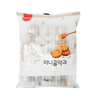 [SAMLIP] Mini Honey Yakgwa 200g / Korean Deep Fried Honey Cookie / Sweet Tea Foo