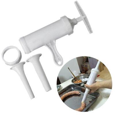 Manual Sausage Stuffer Machine Filler Sausage Salami Maker Funnel Filling Ys7