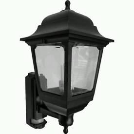 ASD 4 Sided Coach Lantern 100W Black