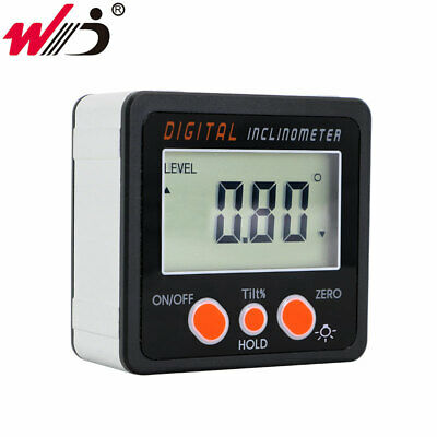 Mini Digital Protractor Inclinometer With Back Light Electronic Level Bevel Box