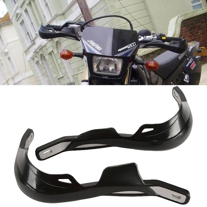 Motorcycle Motocross MX Supermoto Handguards Hand Guard Black