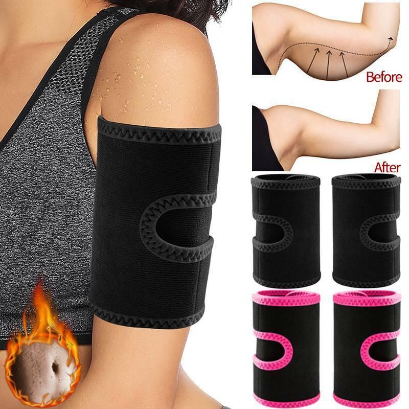 Anti Cellulite Arm Shaper Arm Trimmers Sauna Sweat Bands Wei