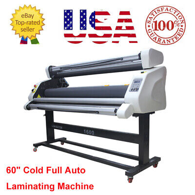 Ac110v Pro 60 Full Auto Low Temp Wide Format Cold Laminator Machine - Usa