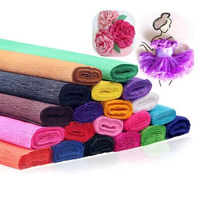 Crepe Paper Streamer Roll Wedding Birthday Party Supplies Children Creative IQ - Crepe Paper Rolls