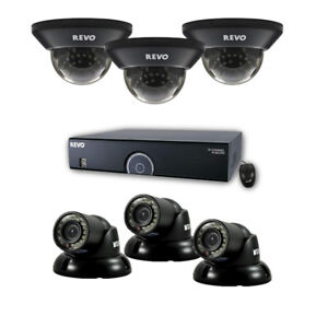 Revo 16 Channel Surveillance System with 6 700TVL Cameras NEW
