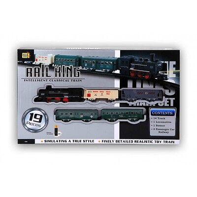 Eisenbahn Set, Zug Set (Batterie), Rail King, Spielzeugeisenbahn
