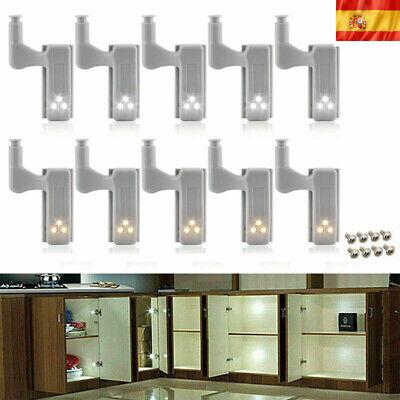 Luz de bisagra de armario de cocina con sensor inteligente de 10...