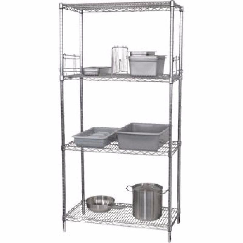 Wire Shelving Kit 4 Tier W 1220 x D 610mm