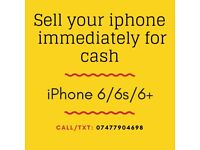 Cash paid for iPhones, immediate sale!