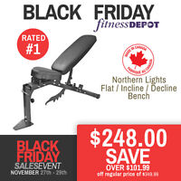 Northern Lights FID Bench Black Friday Deals Blowout Sale