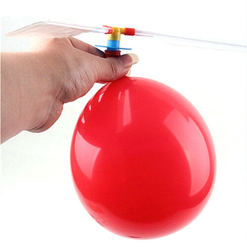 3pcs Flying Balloon Helicopter Outdoor Playing Toys Improve Manipulative Ability