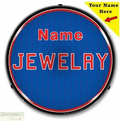 Jewelry Sign 14 Led Light Custom Add Your Name Store Advertise Usa Warranty