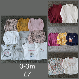 0-3m tops bundle