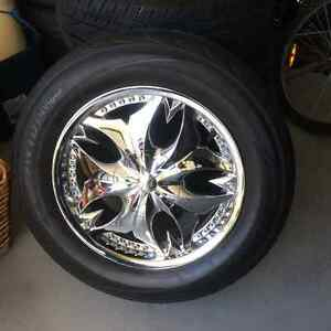 Mags and wheels fits Ford Edge and other Fords
