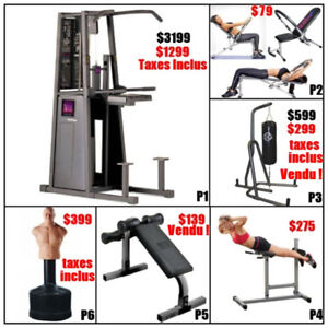Liquidation Pull up station chin up stand ( fermeture ) punching