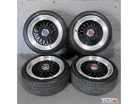 """17"""" BBS RS Style Alloy wheels for a Vauxhal Corsa or 4 stud New Mini"""