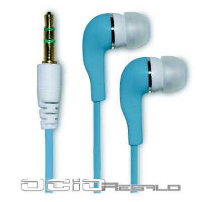 Auriculares para Samsung Galaxy S3 SIII S III GT i9300 Cascos Azul Jack 3,5, usado segunda mano  España