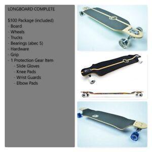 NEW Longboard Complete(Free slide gloves) -30+ MODELS - $100.00