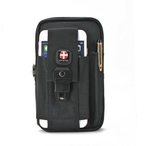 Men Swiss Gear Working Tool Bag Waist Belt Bag Phone Bags Pe