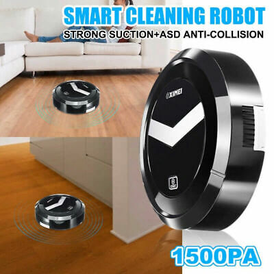 Robot aspirapolvere automatico intelligente pulizia casa polvere pavimento pelo