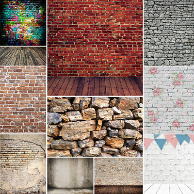 10x10FT Brick Wall Vintage Backdrop Studio Photography Background Photo Props](Photo Prop Backdrops)