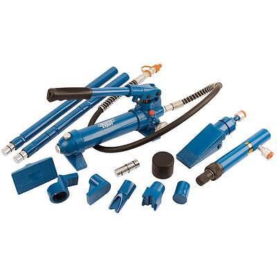 Draper 4 Tonne Hydraulic Car Vehicle Body Repair Kit Automotive Garage Tools