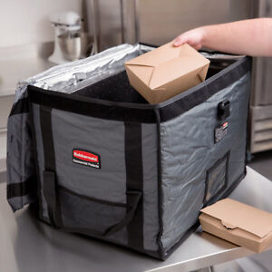 Gray Insulated Nylon Top Load Full Size Food Pan Carrier Kitchener / Waterloo Kitchener Area image 1