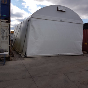 Tarp Barn/40' Containers/20' Containers