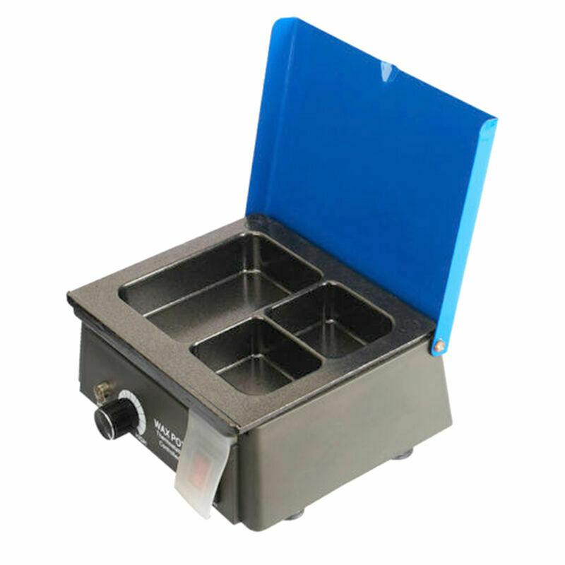 20W Dental Lab Equipment Analog Wax Heater Pot LED Visual Control Button30-130°C