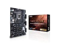 Brand New Asus B250 Mining Expert 19 GPU motherboard ( Ethereum Bitcoin BTC )
