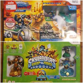 Skylanders Bundle for Wii Swap Force & Superchargers