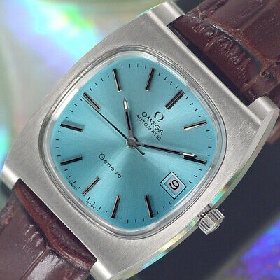 VINTAGE OMEGA Geneve AUTOMATIC 23 JEWELS CAL.1012 DATE ANALOG MEN