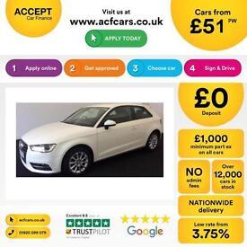 Audi A3 2.0TDI ( 150ps ) ( 13MY ) 2013MY SE FROM £51 PER WEEK!