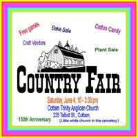 150th Anniversary Country Fair