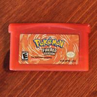 GBA Pokemon FireRed Game Boy Advanced Nintendo